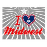 Amo Cercano oeste, Wyoming Tarjeta Postal