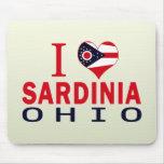 Amo Cerdeña, Ohio Tapetes De Ratón