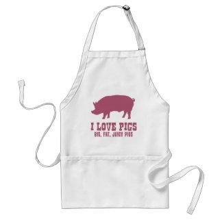 Amo cerdos delantales