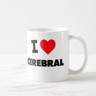 Amo cerebral tazas de café