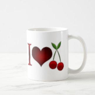 Amo cerezas tazas