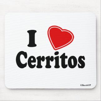 Amo Cerritos Alfombrilla De Ratón