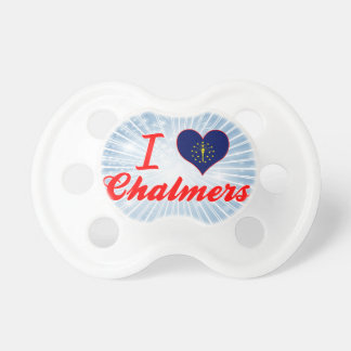 Amo Chalmers, Indiana Chupetes Para Bebes