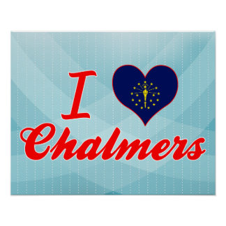 Amo Chalmers, Indiana Posters
