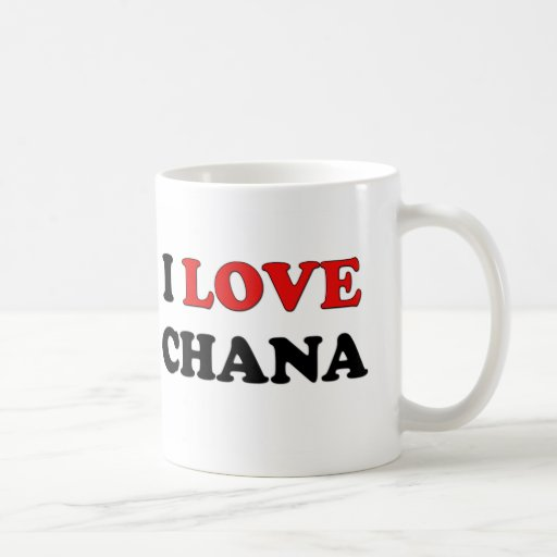 Amo Chana Taza De Café