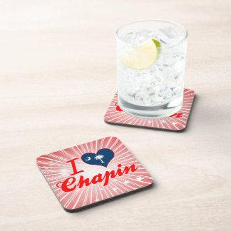 Amo Chapin, Carolina del Sur Posavasos De Bebidas