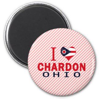 Amo Chardon, Ohio Imán Para Frigorífico