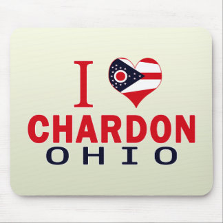 Amo Chardon, Ohio Tapete De Ratón