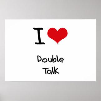 Amo charla doble impresiones