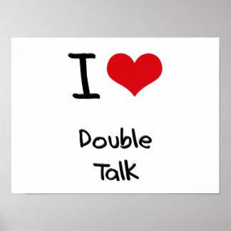 Amo charla doble poster