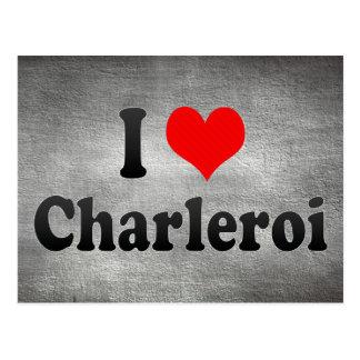 Amo Charleroi, Bélgica Tarjetas Postales
