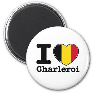 Amo Charleroi Imán Redondo 5 Cm