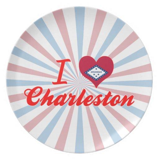 Amo Charleston, Arkansas Plato De Comida