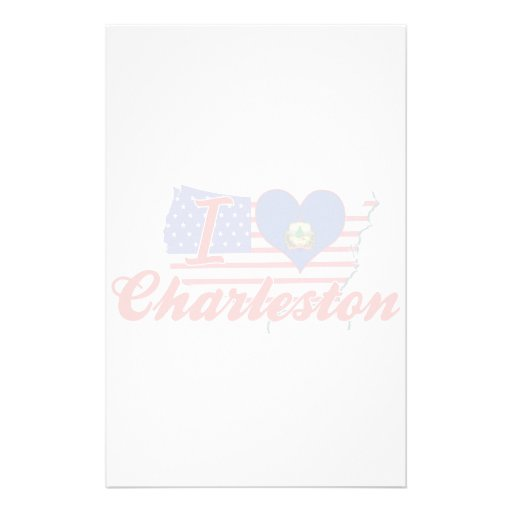 Amo Charleston, Vermont Papeleria Personalizada