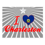 Amo Charleston, Vermont Tarjeta Postal