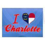 Amo Charlotte, Carolina del Norte Felicitaciones