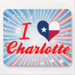 Amo Charlotte, Tejas Alfombrilla De Raton