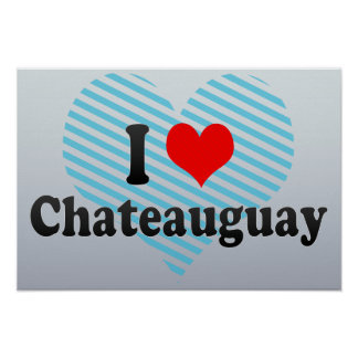 Amo Chateauguay Canadá Poster