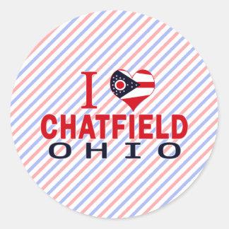 Amo Chatfield Ohio Etiqueta
