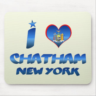 Amo Chatham Nueva York Tapete De Ratón