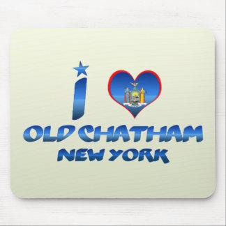 Amo Chatham viejo Nueva York Tapete De Ratón
