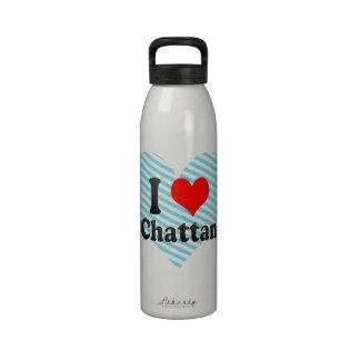 Amo Chattanooga del este Estados Unidos Botellas De Beber