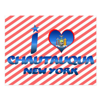 Amo Chautauqua, Nueva York Postales