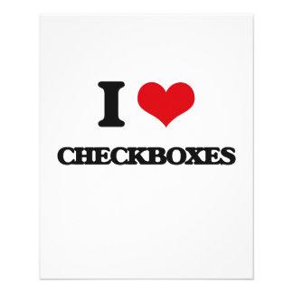 "Amo Checkboxes Folleto 4.5"" X 5.6"""