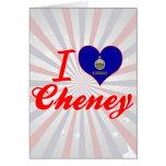Amo Cheney, Kansas Tarjetas