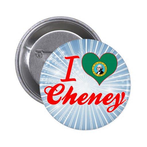Amo Cheney, Washington Pin Redondo 5 Cm