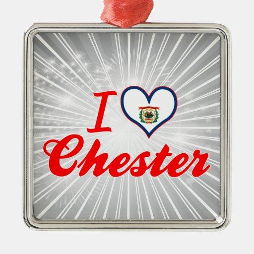 Amo Chester, Virginia Occidental Ornamentos Para Reyes Magos