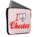 Amo Chester, Virginia Occidental Fundas Computadoras