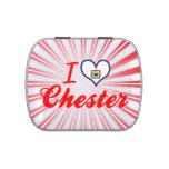 Amo Chester, Virginia Occidental Frascos De Caramelos
