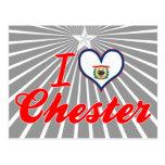 Amo Chester, Virginia Occidental Postal