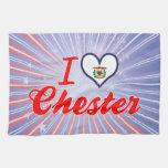 Amo Chester, Virginia Occidental Toalla