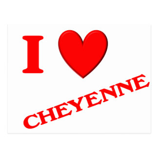 Amo Cheyenne Postales
