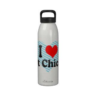 Amo Chicago del este Estados Unidos Botellas De Agua Reutilizables