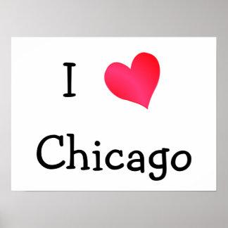Amo Chicago Impresiones