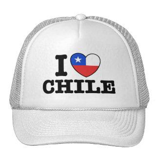 Amo Chile Gorros Bordados