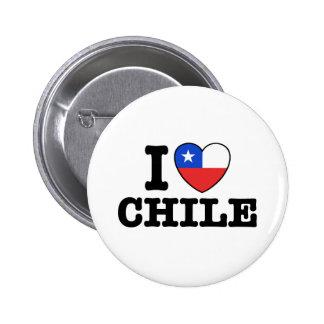 Amo Chile Pins