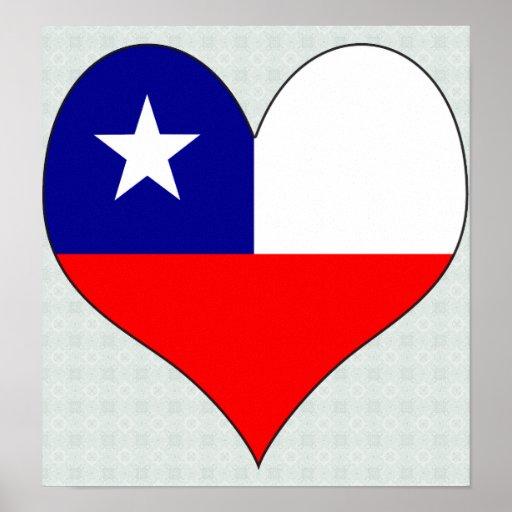Amo Chile Póster