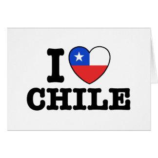 Amo Chile Felicitación