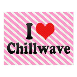 Amo Chillwave Tarjetas Postales