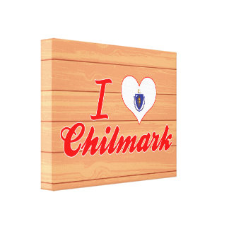 Amo Chilmark, Massachusetts Impresiones En Lona