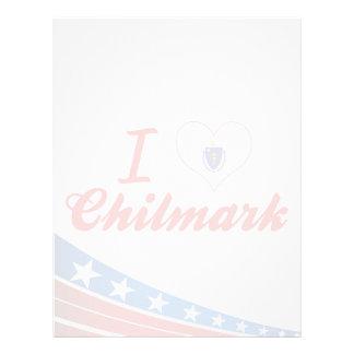 Amo Chilmark, Massachusetts Membretes Personalizados