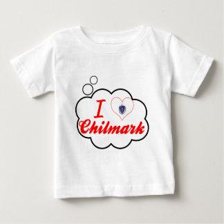Amo Chilmark, Massachusetts Playera Para Bebé