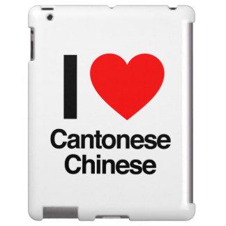 amo chino del cantonese funda para iPad