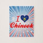 Amo Chinook, Montana Rompecabezas