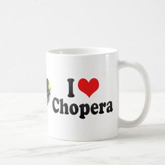 Amo Chopera Taza Básica Blanca