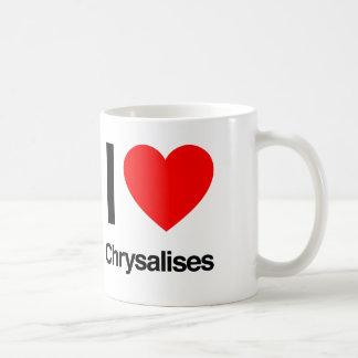 amo chrysalises taza clásica